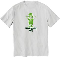 Shamrock On T-Shirt