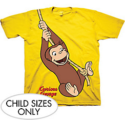 Child Curious George T-Shirt