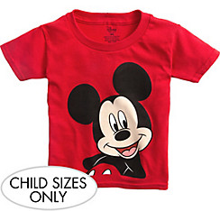 Child Red Mickey Mouse T-Shirt