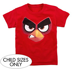 Child Red Angry Birds T-Shirt