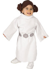Toddler Girls Star Wars Princess Leia Costume