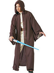 Adult Jedi Robe Costume Deluxe - Star Wars