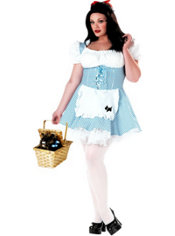 Adult Miss Dorothy Costume Plus Size - Wizard of Oz