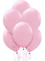 New Pink Latex Balloons 12in 72ct
