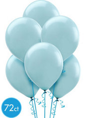 Powder Blue Balloons 72ct