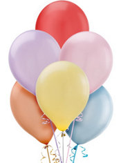 Assorted Pearl Pastel Balloons 72ct