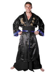 Adult Samurai Warrior Costume Plus Size