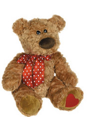 Brown Sweet Cheeks Teddy Bear