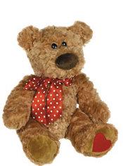 Brown Sweet Cheeks Teddy Bear