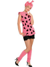 Teen Girls Pebbles Flintstone Costume - The Flintstones