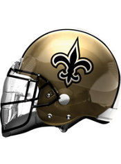 New Orleans Saints Helmet Foil Balloon 26in