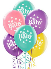 Tiny Bundle Balloons 12in 15ct