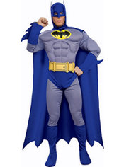 Adult Batman Costume Deluxe - The Brave and the Bold