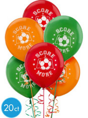 Soccer Latex Balloons 12in 20ct