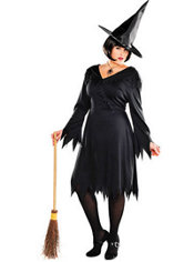 Adult Classic Wicked Witch Costume Plus Size