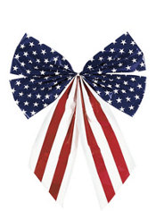 Patriotic Star Spangled Bow