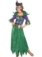 Adult Mardi Gras Queen Costume