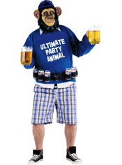 Adult Ultimate Party Animal Costume Plus Size