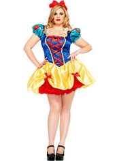 Adult Seductive Snow White Costume Plus Size