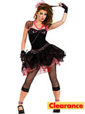 Adult Pop Diva 80's Costume