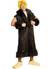 Adult Barney Rubble Costume Plus Size