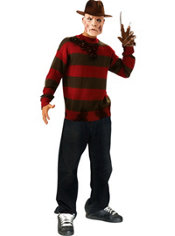 Teen Boys Freddy Krueger Sweater Deluxe