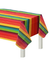 Fiesta Flannel Backed Vinyl Table Cover 52in X 90in