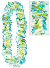 Blue Soft Petal Lei