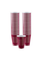 Berry Plastic Cups 50ct