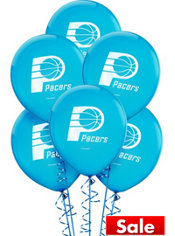 Indiana Pacers Latex Balloon 12in 6ct