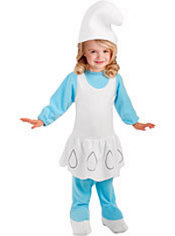 Toddler Girls Smurfette Costume - The Smurfs