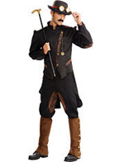 Adult Steampunk Gentleman Costume