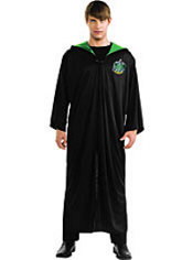 Adult Slytherin Robe Costume - Harry Potter