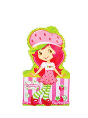 Giant Strawberry Shortcake Pinata 36in