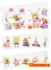 SpongeBob Tattoo Value Pack 72ct