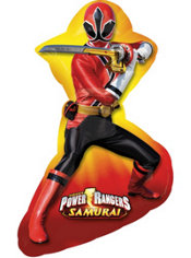 Foil Power Rangers Marquee Balloon 28in