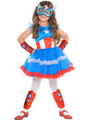 Child American Dream Tutu Dress