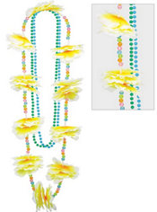Lei & Beaded Necklaces Set 3pc