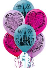 Frozen Balloons 6ct