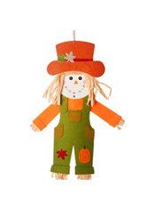 Jointed Felt Scarecrow Boy