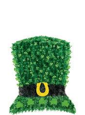 Deluxe Tinsel Leprechaun Hat Decoration