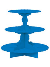 Royal Blue Cupcake Stand