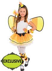 Girls Candy Corn Fairy Costume