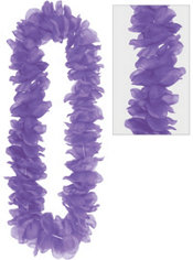 Purple Flower Lei