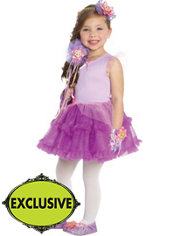 Girls Tutu Rapunzel Costume