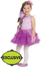 Girls Tutu Rapunzel Costume