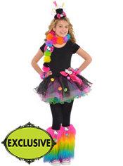 Girls Flirty Hello Kitty Costume