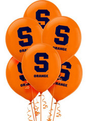 Syracuse Orange Balloons 10ct