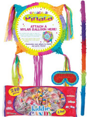 Pull String Add-a-Balloon Pinata Kit