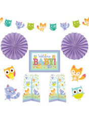 Woodland Baby Shower Room Decorating Kit 10pc Party City